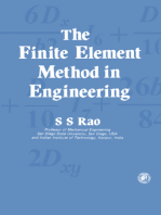 The Finite Element Method in Engineering: Pergamon International Library of Science, Technology, Engineering and Social Studies