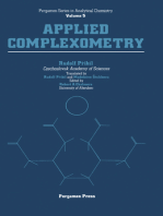Applied Complexometry