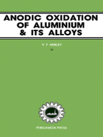 Anodic Oxidation of Aluminium and Its Alloys: The Pergamon Materials Engineering Practice Series