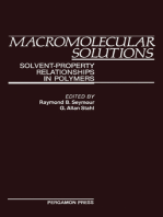 Macromolecular Solutions: Solvent-Property Relationships in Polymers