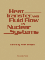 Heat Transfer and Fluid Flow in Nuclear Systems