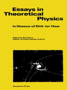 Essays in Theoretical Physics: In Honour of Dirk ter Haar