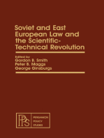 Soviet and East European Law and the Scientific-Technical Revolution