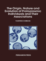 The Origin Nature and Evolution of Protoplasmic Individuals and Their Associations