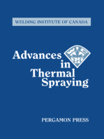 Advances in Thermal Spraying