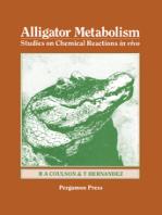 Alligator Metabolism Studies on Chemical Reactions in Vivo