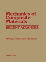 Mechanics of Composite Materials: Recent Advances