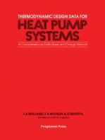 Thermodynamic Design Data for Heat Pump Systems