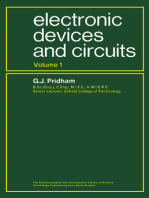Electronic Devices and Circuits: The Commonwealth and International Library: Electrical Engineering Division, Volume 1