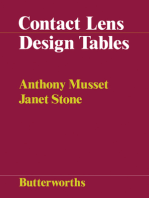 Contact Lens Design Tables