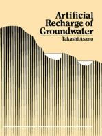 Artificial Recharge of Groundwater