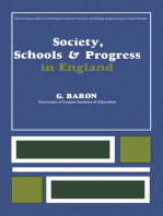Society, Schools and Progress in England