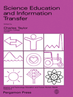 Science Education and Information Transfer