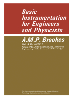 Basic Instrumentation for Engineers and Physicists