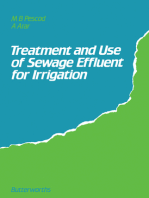 Treatment and Use of Sewage Effluent for Irrigation: Proceedings of the FAO Regional Seminar on the Treatment and Use of Sewage Effluent for Irrigation Held in Nicosia, Cyprus, 7–9 October, 1985