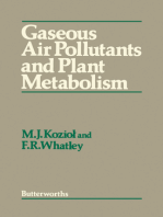 Gaseous Air Pollutants and Plant Metabolism