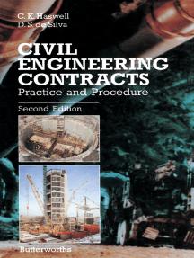 Civil Engineering Contracts: Practice and Procedure