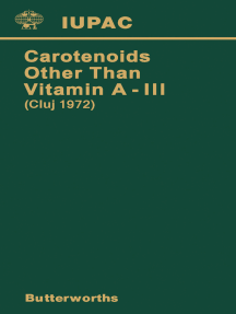Carotenoids Other Than Vitamin A — III: Third International Symposium on Carotenoids Other Than Vitamin A