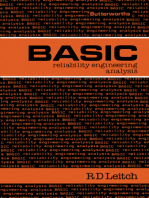Basic Reliability Engineering Analysis