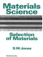 Materials Science–Selection of Materials