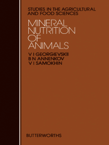 Mineral Nutrition of Animals: Studies in the Agricultural and Food Sciences