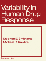 Variability in Human Drug Response