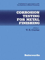 Corrosion Testing for Metal Finishing