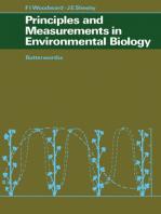 Principles and Measurements in Environmental Biology