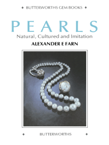 Pearls: Natural, Cultured and Imitation