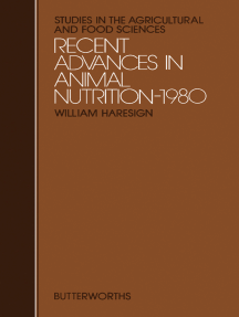 Recent Advances in Animal Nutrition – 1980: Studies in the Agricultural and Food Sciences