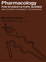Pharmacology for Student and Pupil Nurses and Student Pharmacy Technicians