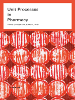 Unit Processes in Pharmacy