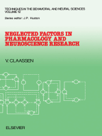 Neglected Factors in Pharmacology and Neuroscience Research