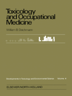 Toxicology and Occupational Medicine: Proceedings of the Tenth Inter-American Conference on Toxicology and Occupational Medicine, Key Biscayne (Miami), Florida, October 22-25, 1978