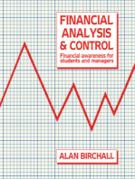 Financial Analysis and Control