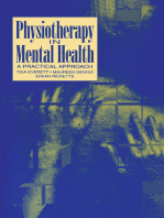 Physiotherapy in Mental Health