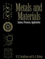 Metals and Materials: Science, Processes, Applications