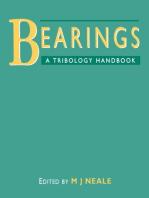 Bearings: A Tribology Handbook