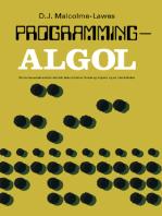Programming — ALGOL