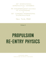 Propulsion Re-Entry Physics
