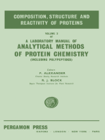 The Composition, Structure and Reactivity of Proteins
