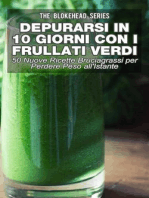Depurarsi in 10 Giorni con Frullati Verdi