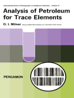Analysis of Petroleum for Trace Elements