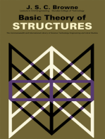Basic Theory of Structures: The Commonwealth and International Library: Mechanical Engineering Division