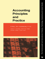 Accounting Principles and Practice