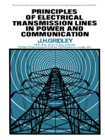Principles of Electrical Transmission Lines in Power and Communication