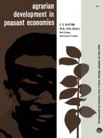 Agrarian Development in Peasant Economies
