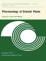 Pharmacology of Oriental Plants