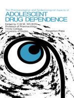 The Pharmacological and Epidemiological Aspects of Adolescent Drug Dependence