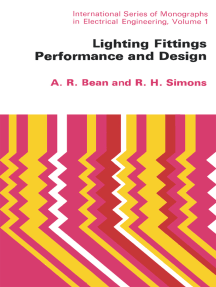 Lighting Fittings Performance and Design: International Series of Monographs in Electrical Engineering